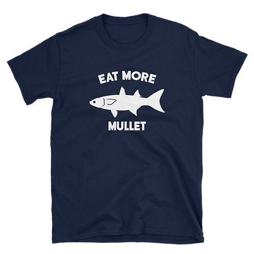 Navy/White Eat More Mullet Tee