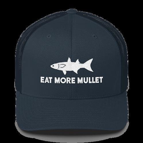 Navy Mullet Snapback