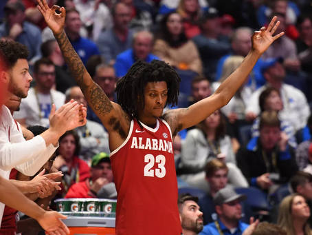 John Petty breaks Alabama record for career three-pointers made