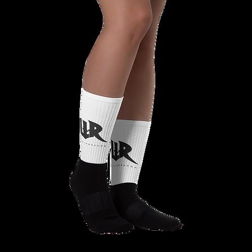 Black Foot Logo Socks