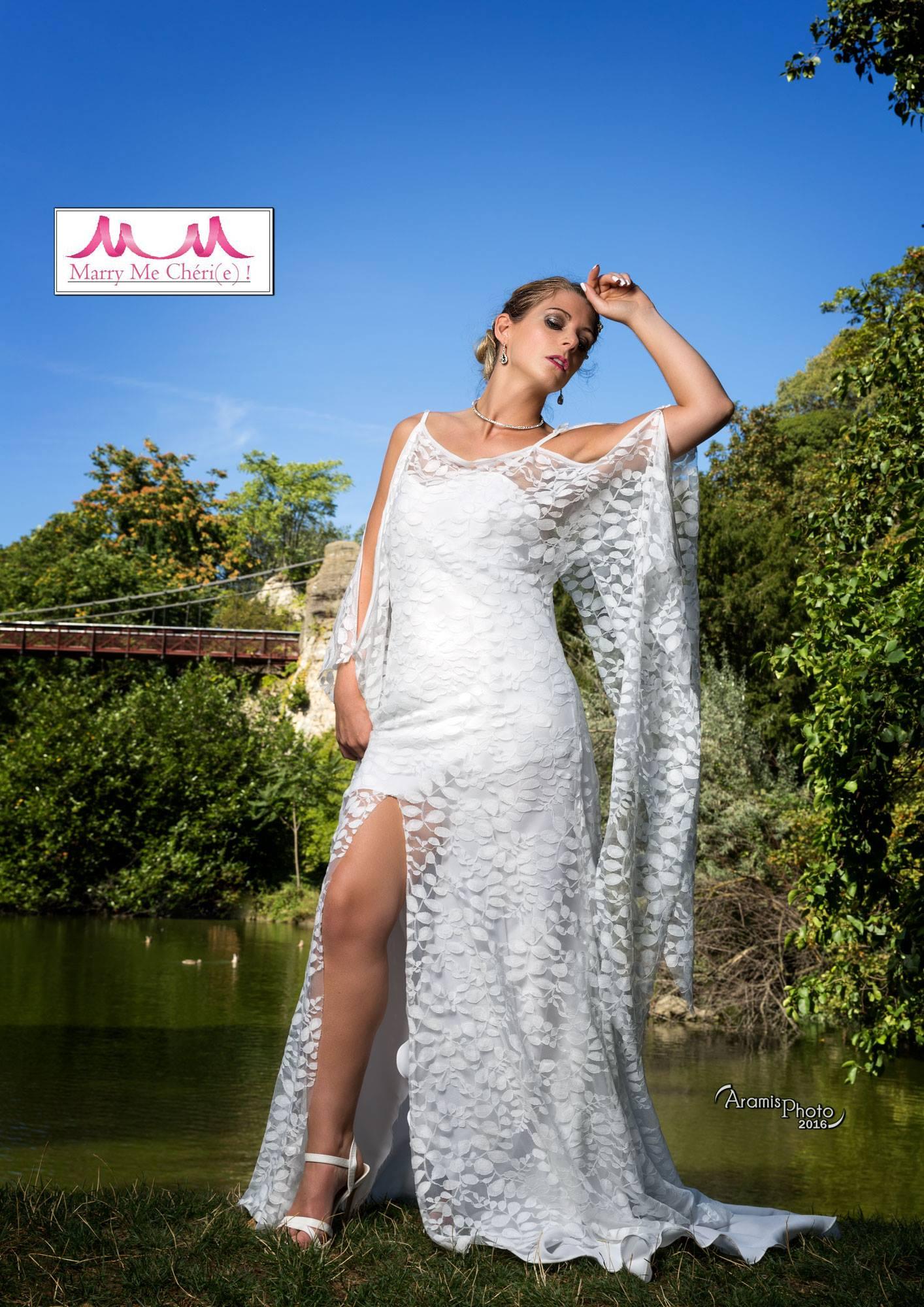 Robe de mariée sur mesure dentelle