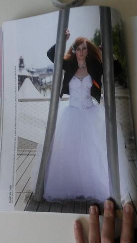 Article de presse, Marry Me Chéri, créatrice robe de mariée
