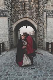 Robe de mariée médiévale