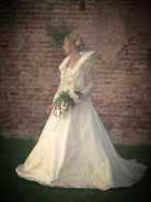 Robe de marie princesse taffetas