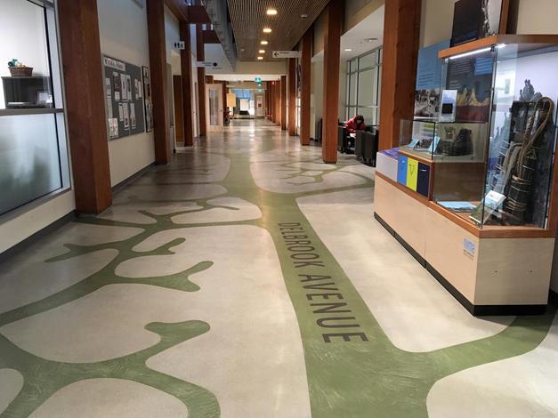 Delbrook Hallway