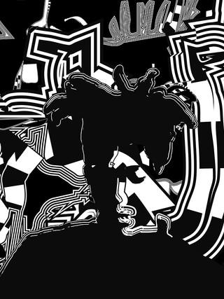 Basquiat Meditation # 04 - 1 EA - 1/5 exe