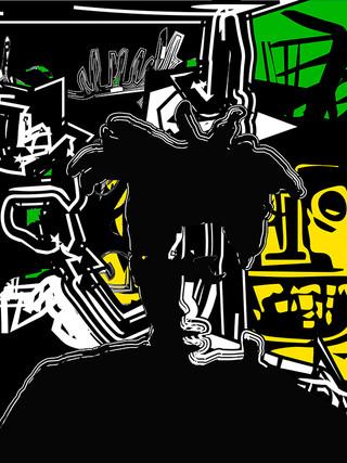 Basquiat Meditation # 03 - 1 EA - 1/5 exe