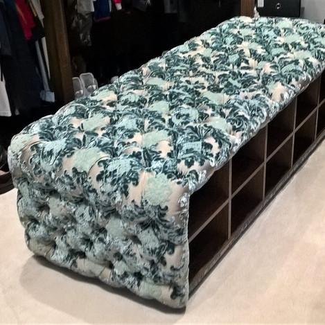 Seat and shoe storage unit