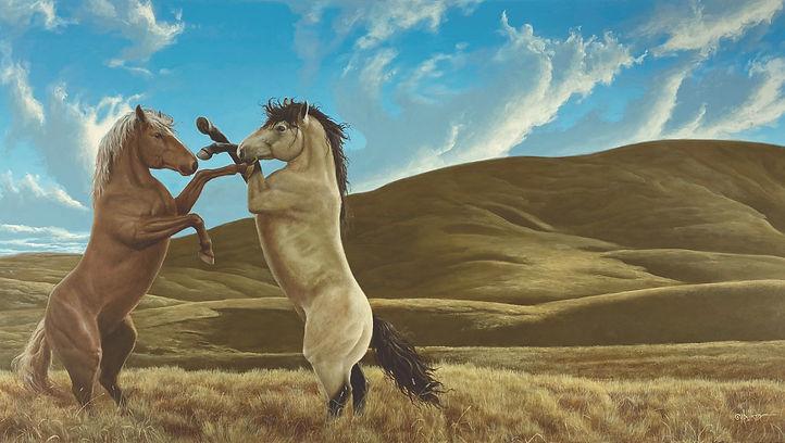 RECONCILIATION (The Suffield Block Horse
