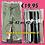 Thumbnail: Stretch broek div. kleuren.