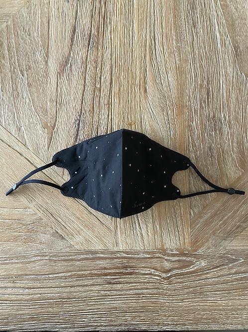 Mondkapje Black star