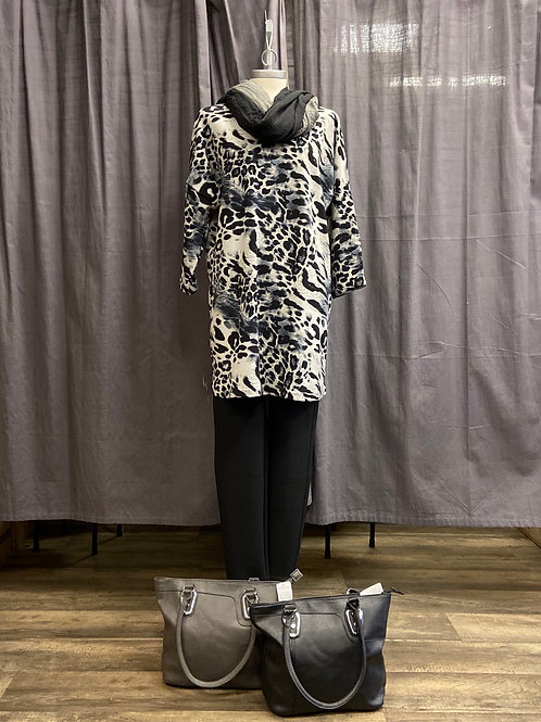 Seasons Longshirt Tiger Grey