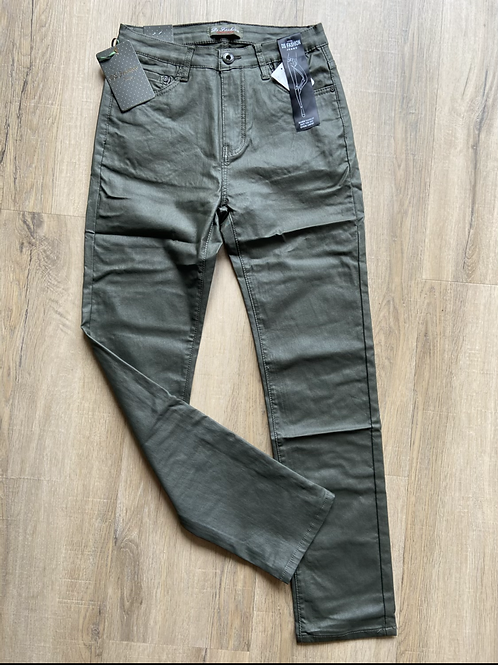 DS Jeans leer broek Army Tippy