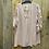 Thumbnail: Lange tuniek/blouse rimpel mouw div. kleuren