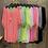 Thumbnail: Tuniek/top kwastjes div. kleuren