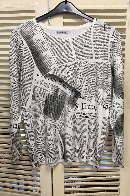Kranten trui