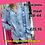 Thumbnail: Blouse jeans Anastacia