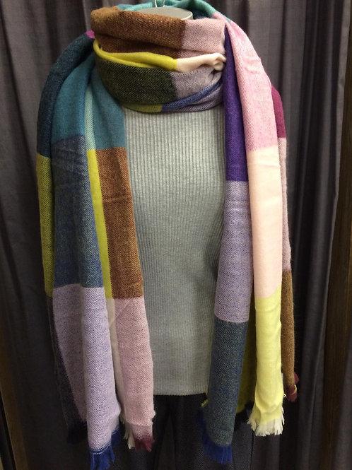 Dikke shawl blok