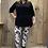 Thumbnail: Lange tuniek/blouse effen div. kleuren