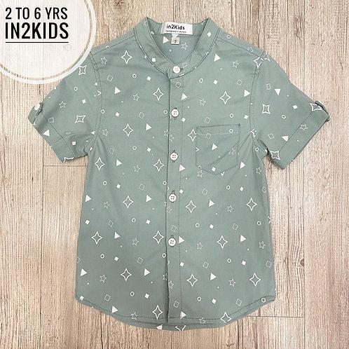 Diamonte Stars Printed Shirt
