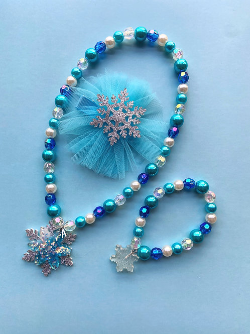 Frozen Themed Necklace Set