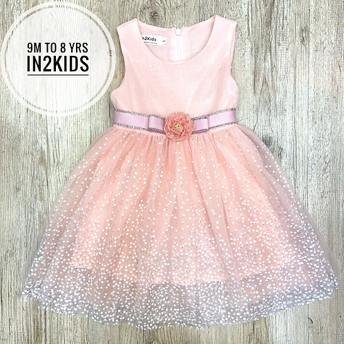 Pink Sparkles Princess Dress