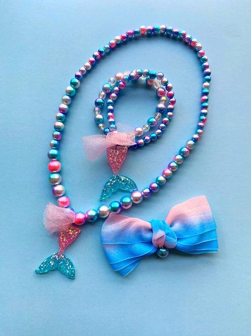 Mermaid Style Necklace Set