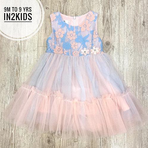 Floral Fantasy Princess Dress