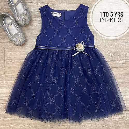 Midnight Blue Princess Dress