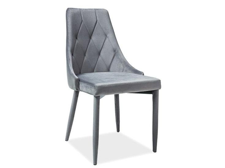 Стул Trix (Velvet) серый