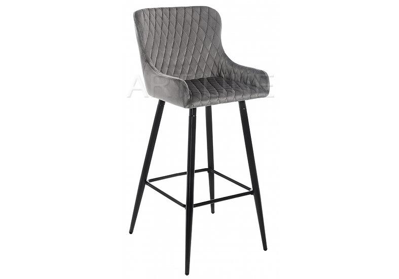 Барный стул Mint серый