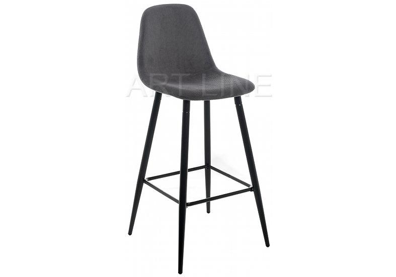 Барный стул Lada серый