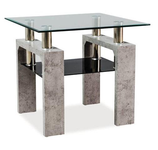 Стол Lisa-1 бетон