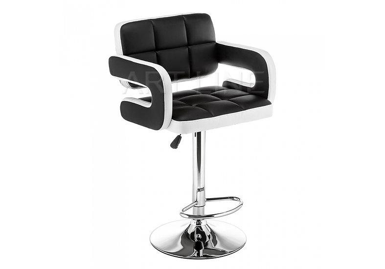 Барный стул Bent чёрный