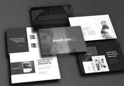 DSMY Resume PowerPointTemplate Mockup