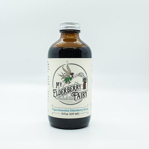 Vegan and Infant Friendly Essential Elderberry Syrup - 8 fl oz
