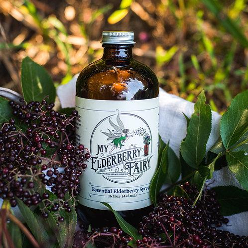 Essential Elderberry Syrup - 16 fl oz