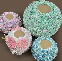 紫陽花フラワーベース Hydrangea-shaped Flower Vases
