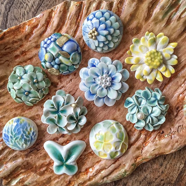 Handmade ceramic accessories