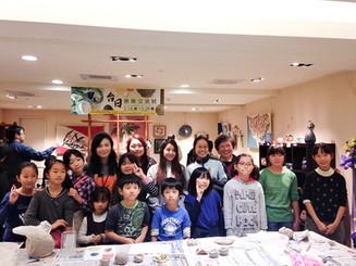 2016 台湾大葉高島屋「日台交流展」陶芸教室