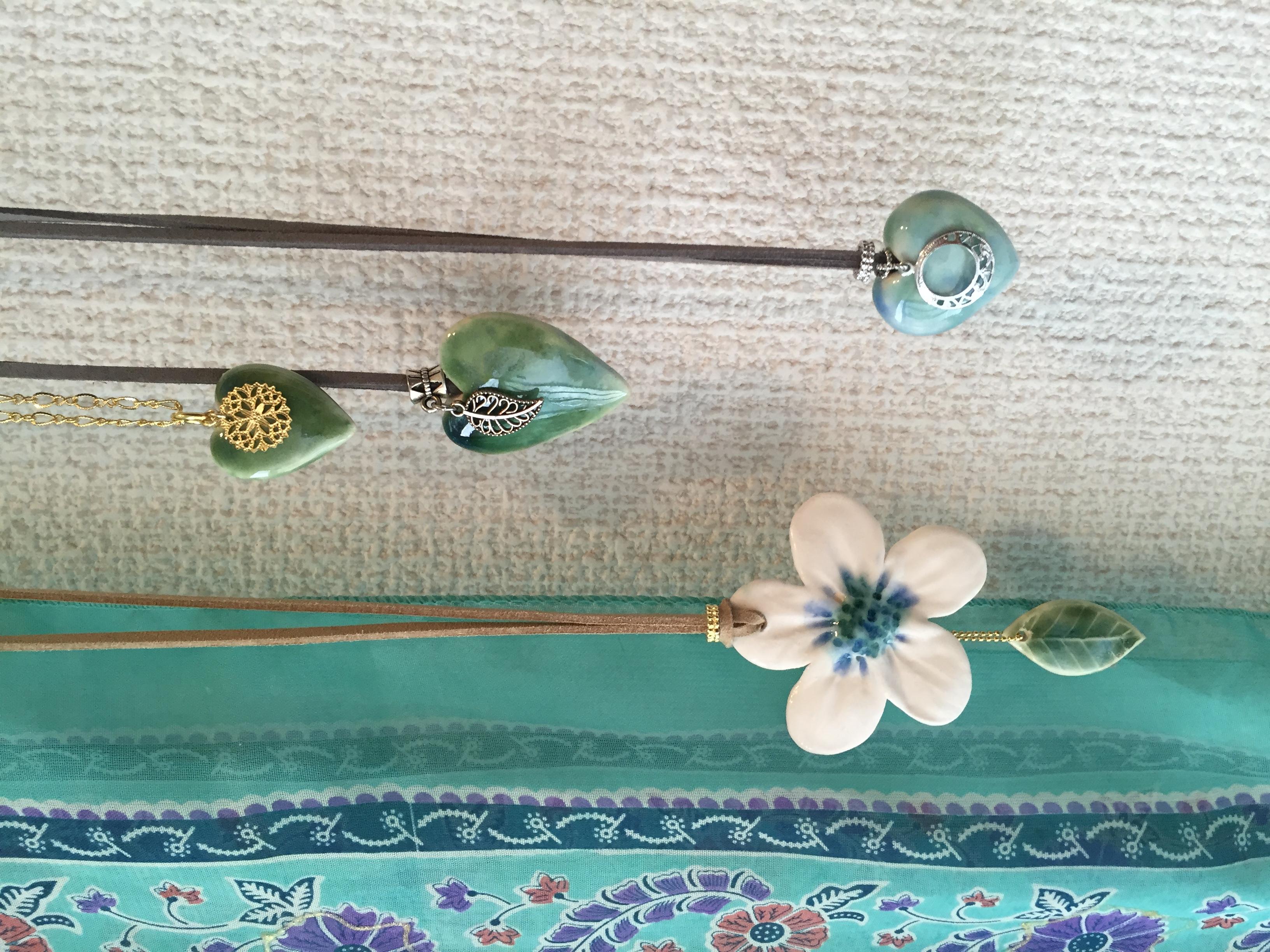 Handmade ceramic accessories
