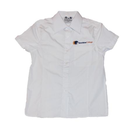 White short sleeve shirt - girls.PNG