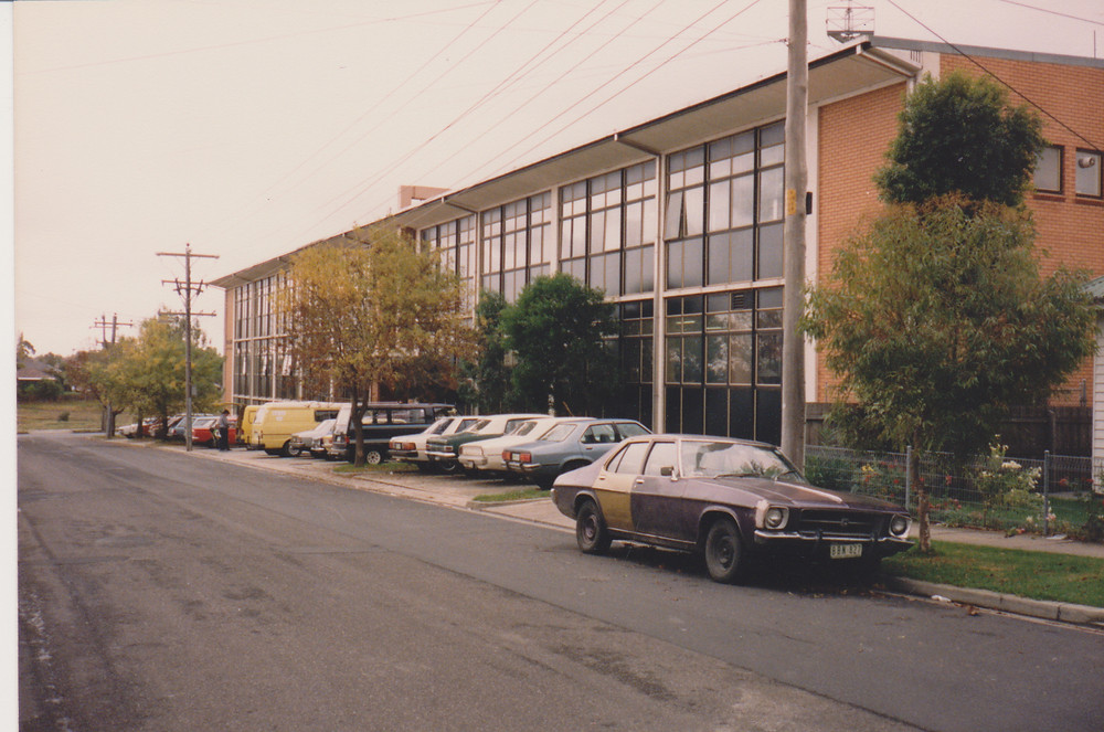 Nostalgic photo of Sunshine College in the 70s