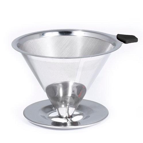 Coador Pour Over em Aço Inox Bialetti