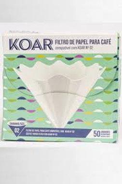Filtro de Papel para Filtro KOAR com 50 un.