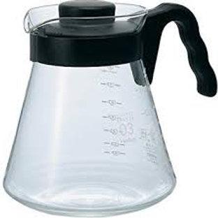Jarra para Servir Café com Capacidade de 1 litro em Vidro - Hario - HYHR