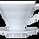 Thumbnail: Suporte em acrílico branco para Filtro de café Hario V60 -01