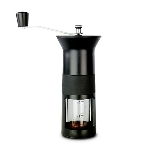 MOEDOR DE CAFÉ PRETO - BIALETTI