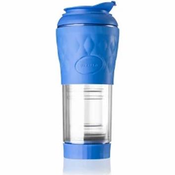 Cafeteira Portátil Pressca 350ml Azul