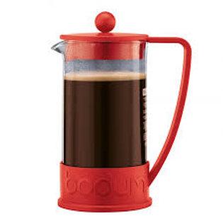 Prensa Francesa Bodum Vermelha p/ Prep. Chá/ Café 350 ml